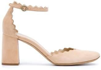Chloé 'Lauren' ankle strap pumps