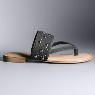 Vera Wang Simply Vera Mansion Women's Sandals