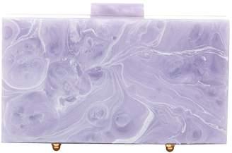 Non Signé / Unsigned Non Signe / Unsigned Purple Plastic Clutch bags