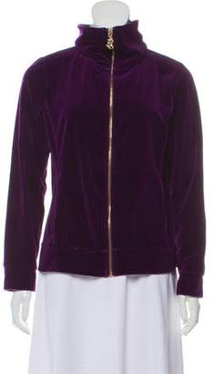 Ralph Lauren by Ralph Velvet Zip Sweater