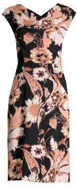 Etro Wool Poppy Sheath Dress