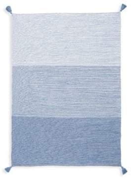 Elegant Baby Baby's Blue Cotton Knit Blanket