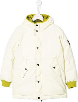 Stone Island Junior reversible padded coat