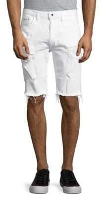 Calvin Klein Jeans Distressed Cut-Off Denim Shorts