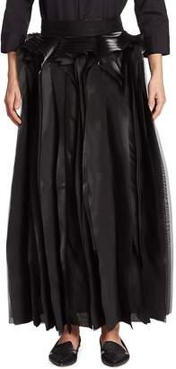Noir Kei Ninomiya Women's Layered Maxi Skirt