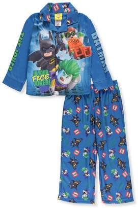 Batman Lego Little Boys' 2-Piece Pajamas