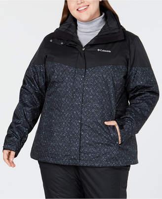 Columbia Plus Size Loon Ledge Waterproof Interchange Jacket