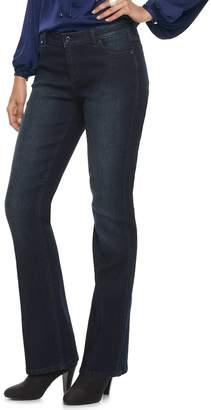 JLO by Jennifer Lopez Women's Faded Bootcut Jeans