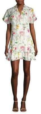 Natalie Floral Mini Dress