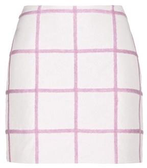 3.1 Phillip Lim Wool-blend Miniskirt