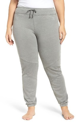 Plus Size Women's Marika Curves Quilted Joggers $60 thestylecure.com