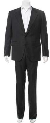 Valentino Pinstripe Virgin Wool Two-Piece Suit
