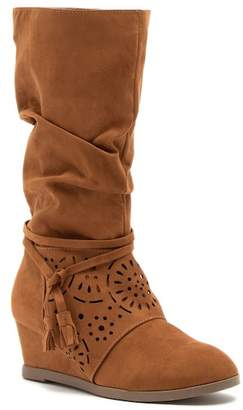 Jessica Simpson Monterey Faux Suede Boot (Little Kid & Big Kid)