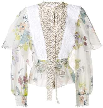 See by Chloe flared sleeve blouse