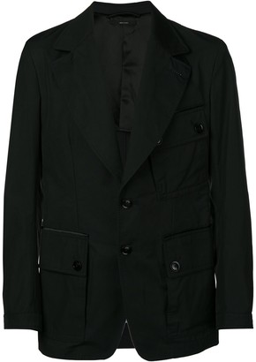 Tom Ford cargo pocket military jacket