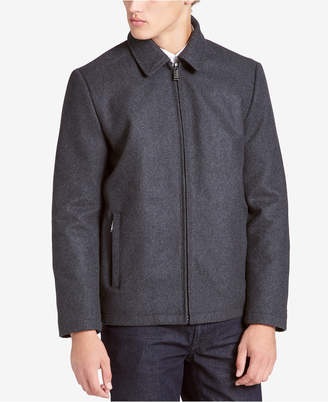 Calvin Klein Men's Big & Tall Open Bottom Coat