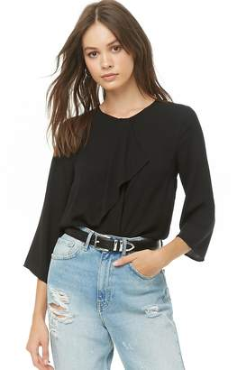Forever 21 Drape-Front Top