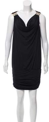 Carmen Marc Valvo Sleeveless Mini Dress