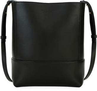Bottega Veneta Small Napa Leather Crossbody Bucket Bag