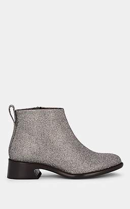 Sies Marjan WOMEN'S ALLY GLITTER LEATHER ANKLE BOOTS