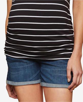 Motherhood Maternity Cuffed Denim Shorts