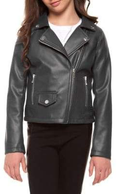 Dex Girl's Moto Jacket