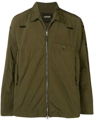 Aspesi zipped military jacket