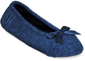 Isotoner Terry Ballerina Slippers
