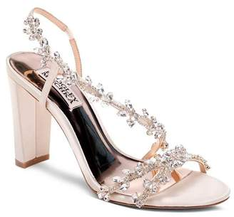 Badgley Mischka Women's Felda Crystal Embellished High-Heel Sandals