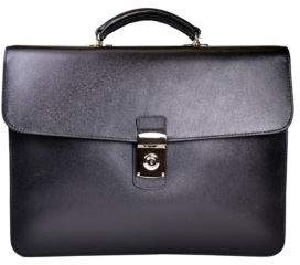 ROYCE New York Luxury Double Gusset Briefcase