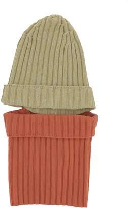 Sansovino 6 Orange And Yellow Wool Hat