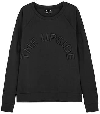 The Upside Black On Black Fleece Sweatshirt