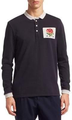 Kent & Curwen Stokes Rose Polo