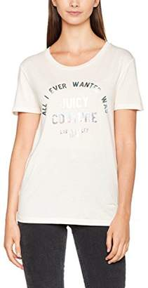 Juicy Couture Women's KNT All I Ever Juicy Tee T-Shirt,(Manufacturer Size: M)