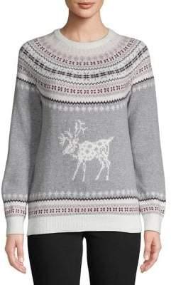 Tommy Hilfiger Reindeer Fair Isle Sweater
