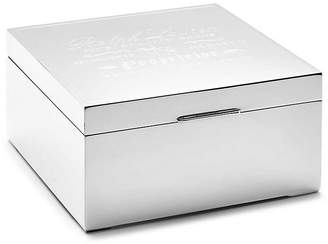 "Ralph Lauren Home 6"" Proprietor Box - Silver"