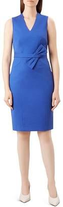 Hobbs London Mary Bow Detail Sheath Dress