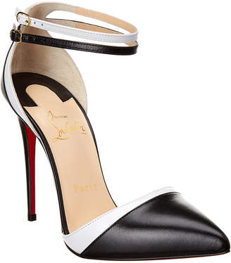 Christian Louboutin Uptown- Double 100 Leather Pump