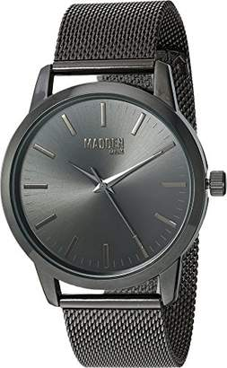 Steve Madden Men's Quartz Stainless Steel and Alloy Fashion Watch