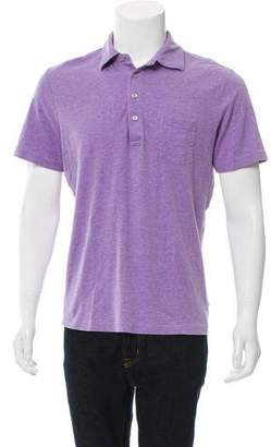 Michael Kors Button-Up Polo Shirt