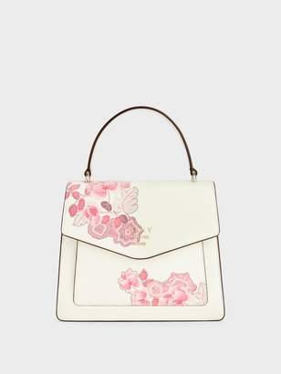 DKNY Whitney Floral Flap Satchel