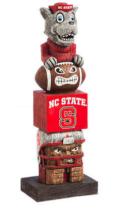 Evergreen North Carolina State Wolfpack Tiki Totem