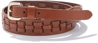 La Redoute COLLECTIONS Plaited-Effect Leather Belt