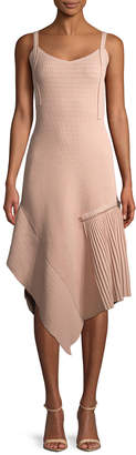 Jason Wu Daino Asymmetric Midi Dress