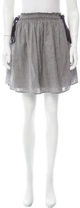 Apiece Apart Striped Knee-Length Skirt