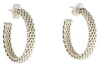 Tiffany & Co. Somerset Hoop Earrings