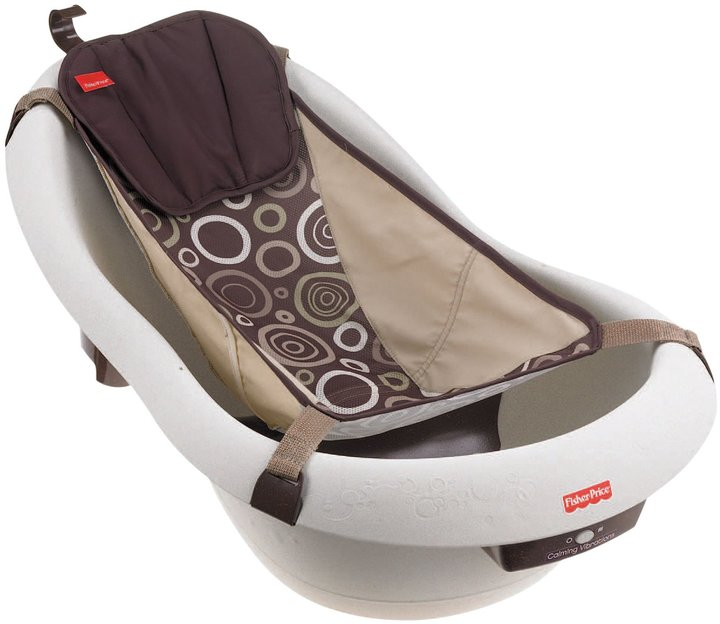 Fisher Price Calming Waters Vibration Tub - Brown