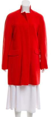 Halston Tailored Wool Coat w/ Tags