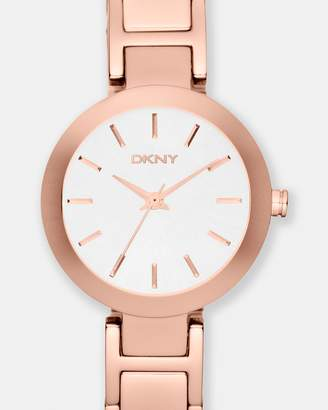 DKNY Stanhope Rose Gold-Tone Analogue Watch