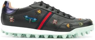 Gucci Yell low-top embroidered sneakers